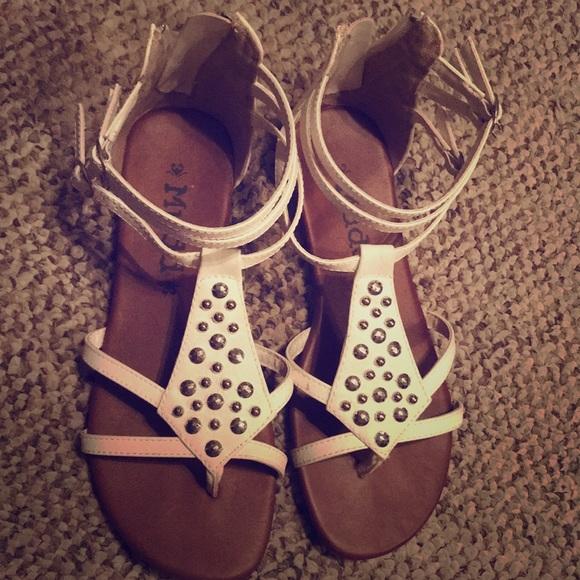 Mudd Shoes   Kohls Sandals Juniors 7